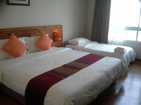 โรงแรมบุรีศรีภู บูติกโฮเต็ล: Room