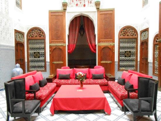 Riad Fez Yamanda: Patio