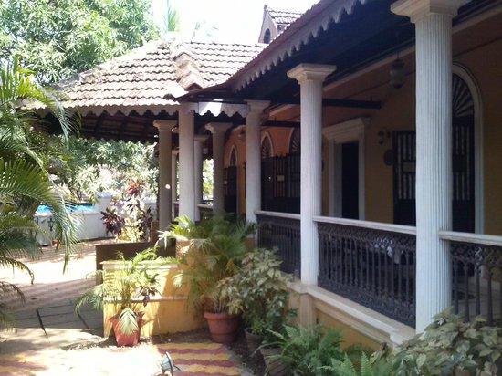 The Heritage Goa Hotel: Eingang