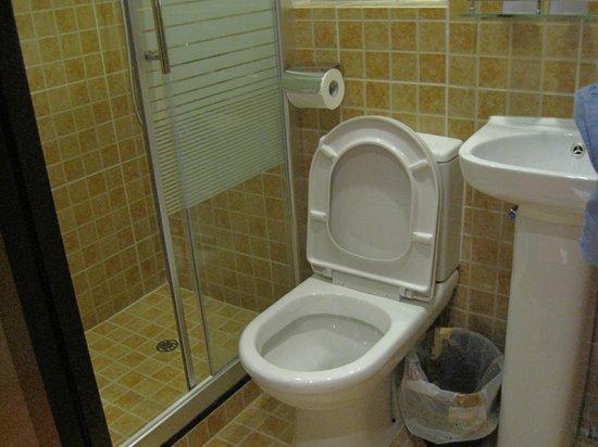 Golden Crown Guesthouse: bathroom - always kept clean