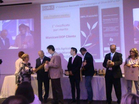 Frantoio Marsicani: Premiazione Orciolo 2012