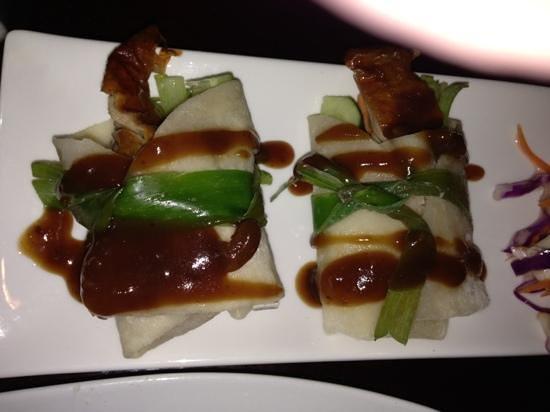 Rice Tapas: Peking Duck.