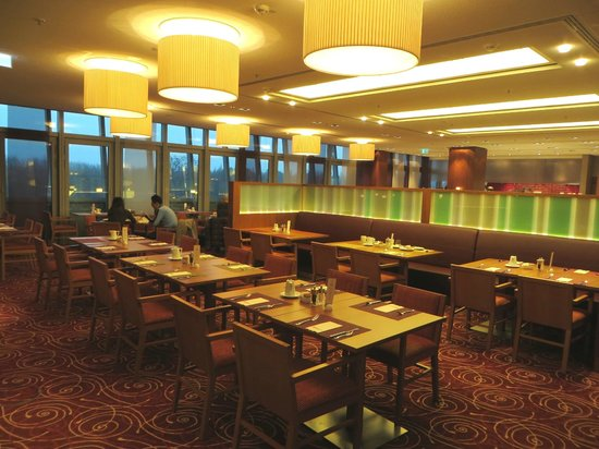 Hilton Frankfurt Airport Hotel: Restaurant