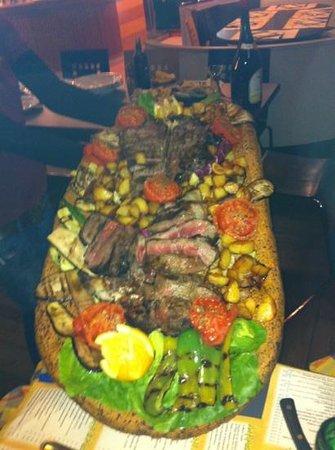 Ristorante Pizzeria Nottedi: ecco uno dei piatti!!.. bello e buono!!!..
