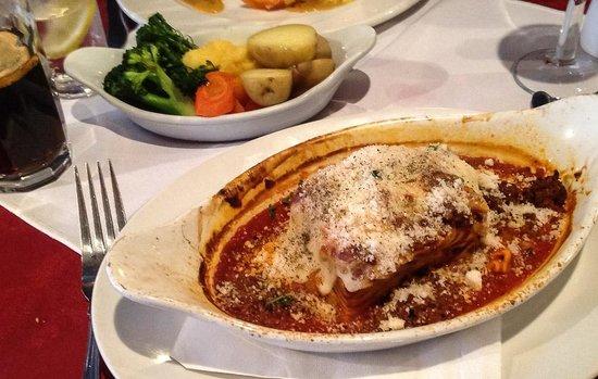 Azzurro: Lasagne