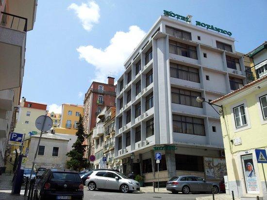 Botanico Hotel: Botanico up-hill