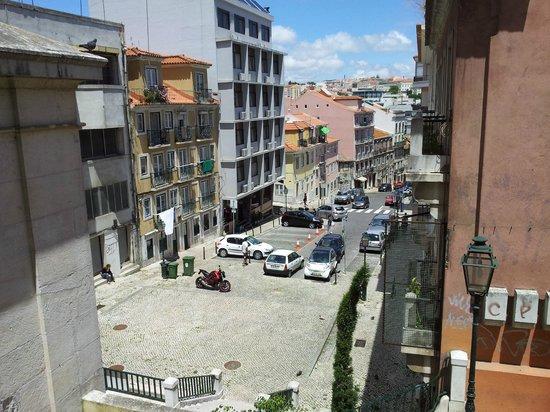 Botanico Hotel: Botanico down-hill