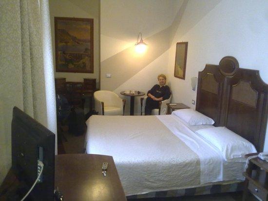 Hotel La Rosetta: La ns camera, molto ben arredata