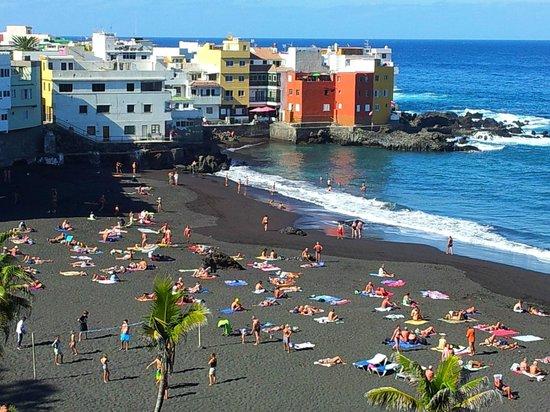 Playa jardin puerto de la cruz tenerife vista verso punta brava picture of playa jardin - Playa puerto de la cruz tenerife ...