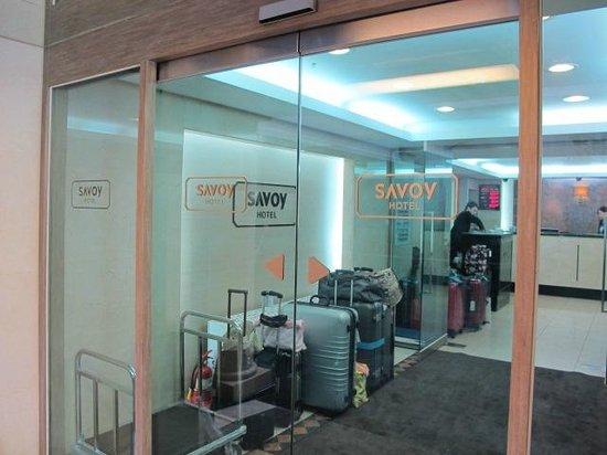 Savoy Hotel Seoul : Entrance to hotel reception
