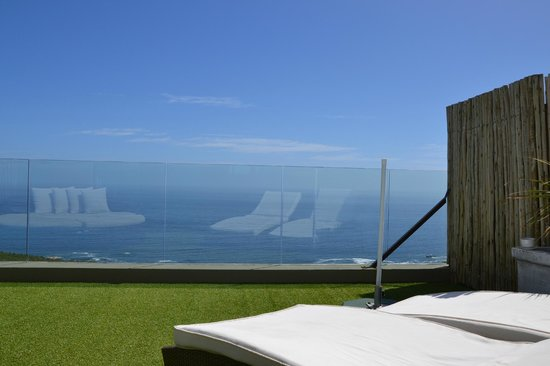 Atlantic Gold : Blick vom Roof Top über den Atlantik (tagsüber)