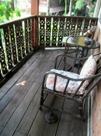 Mountain View Guest House: balcon de la chambre
