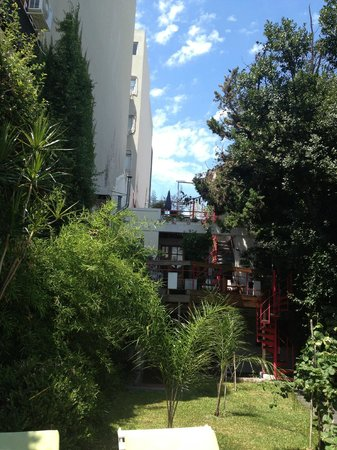 Livian Guesthouse: view from the garden