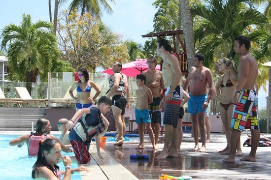 Club Med La Caravelle: Jeu piscine