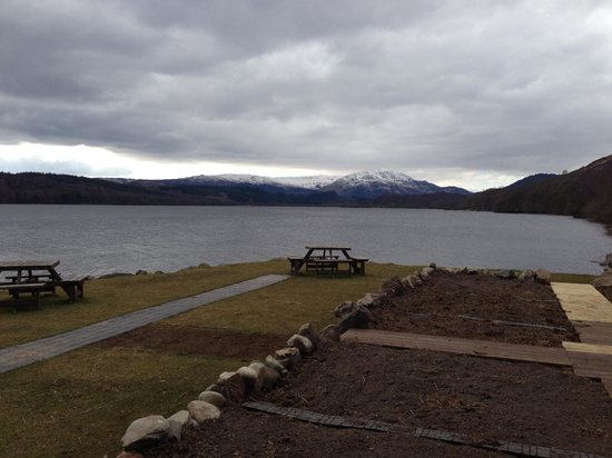 Venachar Lochside: The view