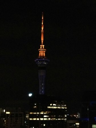 Auckland Harbour Oaks: Sky Tower