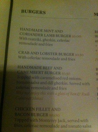 All Bar One New Oxford Street: mmmm... burger