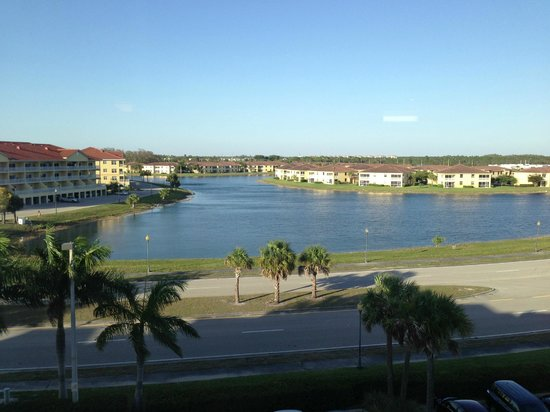 Hampton Inn & Suites Fort Myers - Colonial Blvd: From higher rooms on southeast end