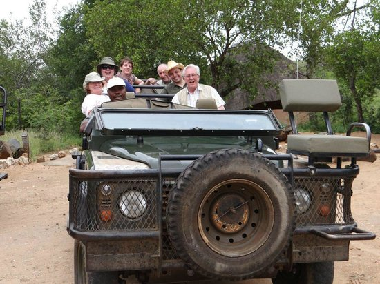 Garonga Safari Camp: Off we go again  - what will we see today?