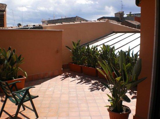 B&B Residenza Umberto: terrace