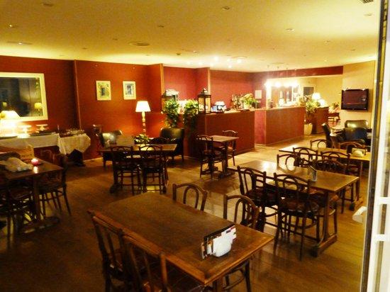 Hotel Blau Mar: Frühstücksraum; sonst Snackbar