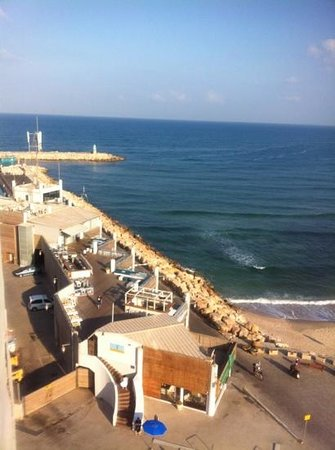 Carlton Tel Aviv: View from balcony