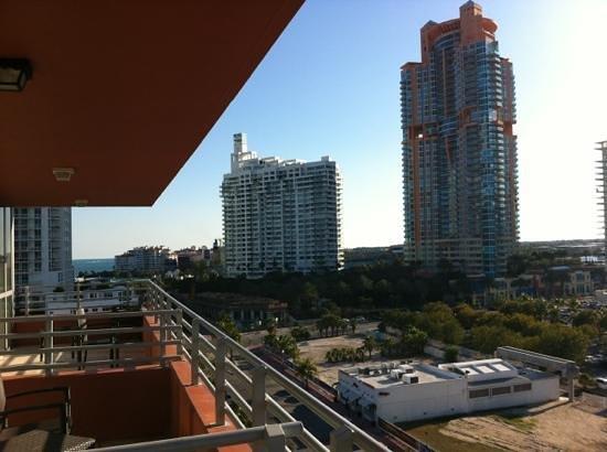 Hilton Bentley Miami/South Beach: view from 914
