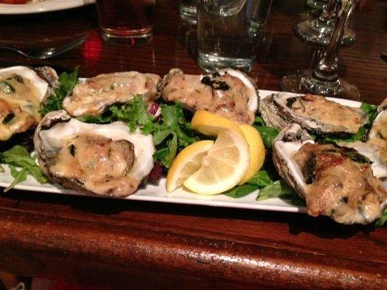 Taste: Oysters Rockefeller