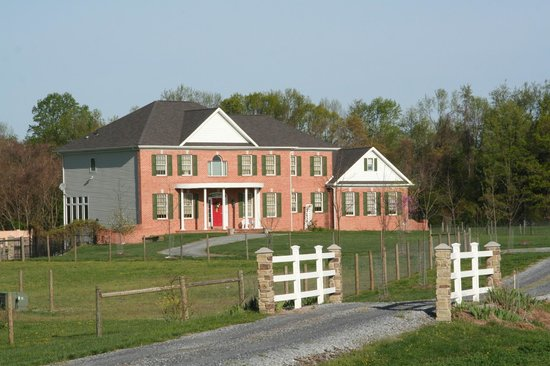 The Candle House Inn : Modern, comfortable farmhouse on 34 acre working farm