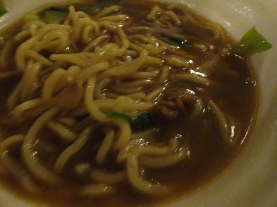 Shengyuan Xiangjiang Hotel: beef noodles-not worth to try ,only 5 small slice of beef and the soup tasteless of beef soup