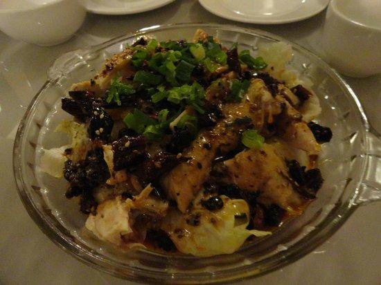 Shengyuan Xiangjiang Hotel: chicekn with vegetable