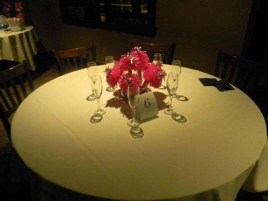 Annabelle's Restaurant : Rehearsal Dinner