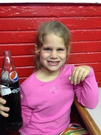 La Tiendita Carniseria Y Taqueria : love that bottled Pepsi!!