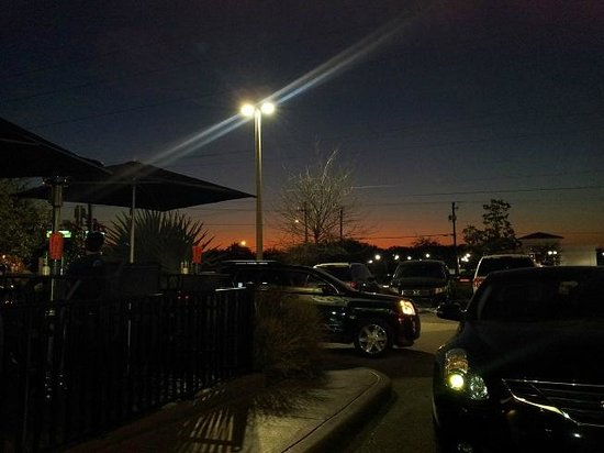 Bonefish Grill: Bonefish parking lot sunset