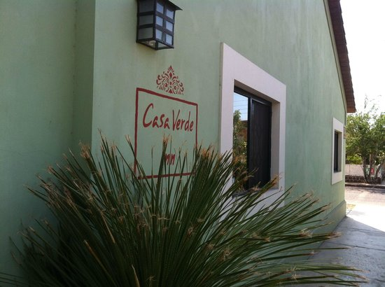 Casa Verde Inn: Entrada