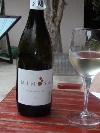 Mimosa Lodge: mimosa wine
