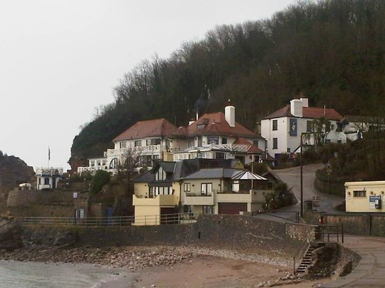 Cary Arms & Spa: view from beach