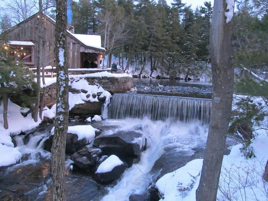 1761 Old Mill Restaurant: The Old Mill Waterfall