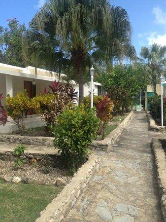 Ground walking to tennis court picture of club villas for Villas jazmin 2 yautepec