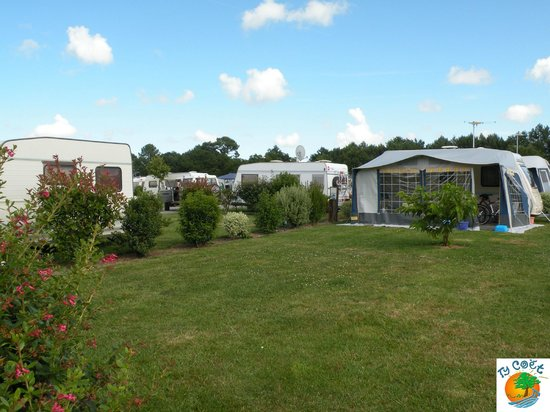 Camping Ty-Coet : Emplacements camping au Ty-Coet