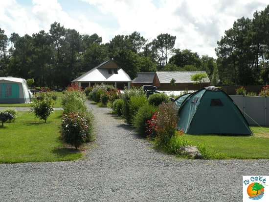 Camping Ty-Coet : Emplacements camping