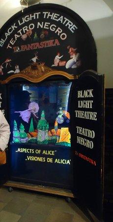 Ta Fantastika Black Light Theatre: Information about the show