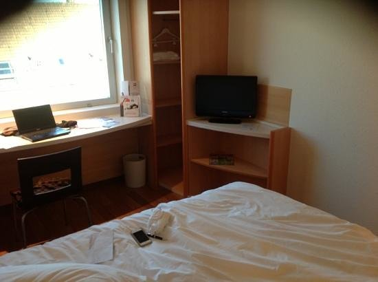 Ibis Münster City: vista stanza