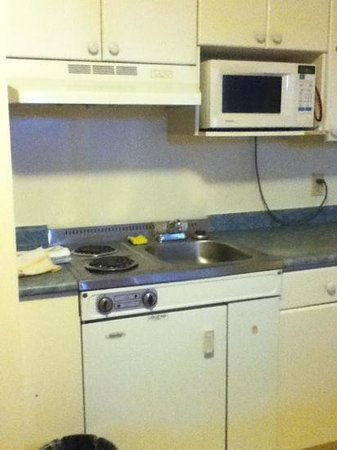 Chateau Motel : kitchen unit