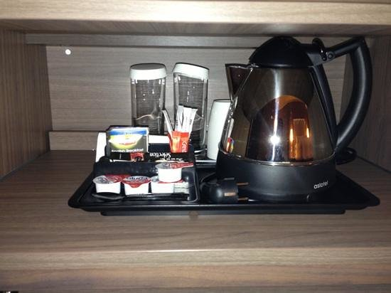 Hilton Paris La Defense: コーヒーや紅茶が