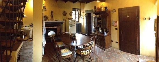 Lanciole, Italien: kitchen