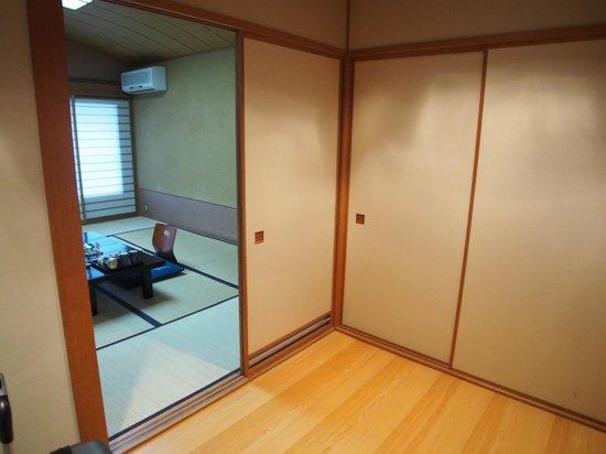 Gora Ichinoyu: Open bath room entry