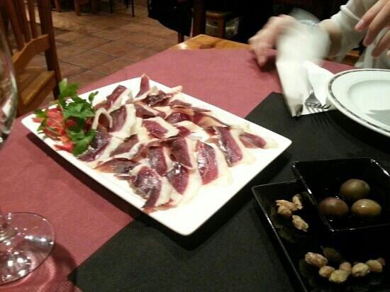 Restaurante Creperia Le Dolmen : Jamon de pato