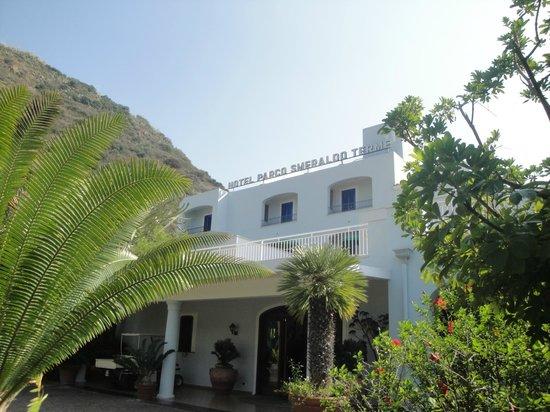 Hotel Parco Smeraldo Terme: Главный вход