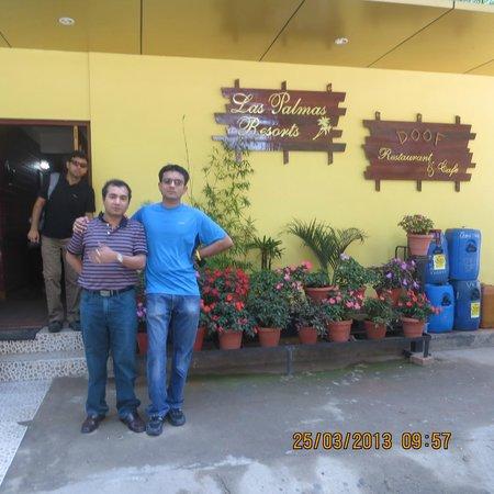 Las Palmas Munnar: Entrance